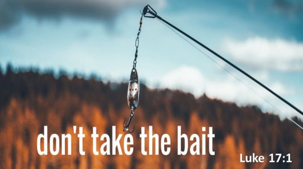 dont-take-the-baitDon't Take the Bait