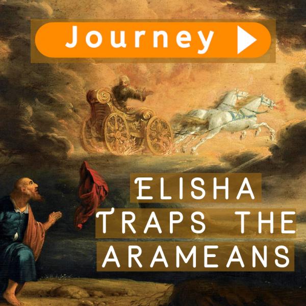 Elisha Traps the Arameans