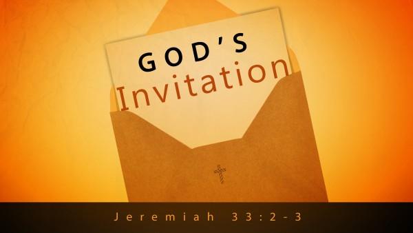 God's Invitation