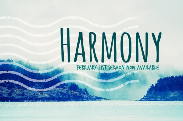 harmony-feb-21st-2016Harmony - Feb 21st , 2016