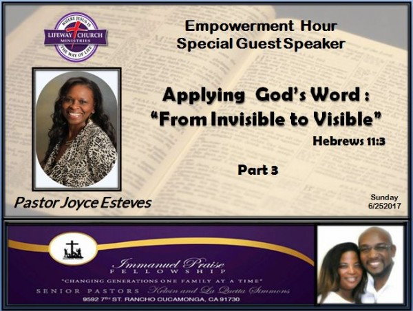 applying-the-word-of-god-from-invisible-to-visibleApplying The Word of God: From Invisible to Visible