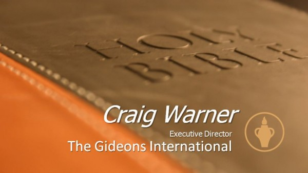 Gideons International Speaker