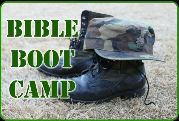 "Bible Boot Camp ""Training Manuel the Bible"""