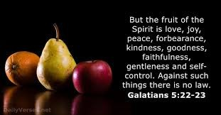 The Fruit of the Spirit Galatians 5