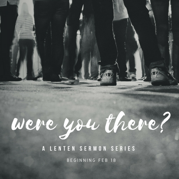 Were You There?: Judas (Maundy Thursday)