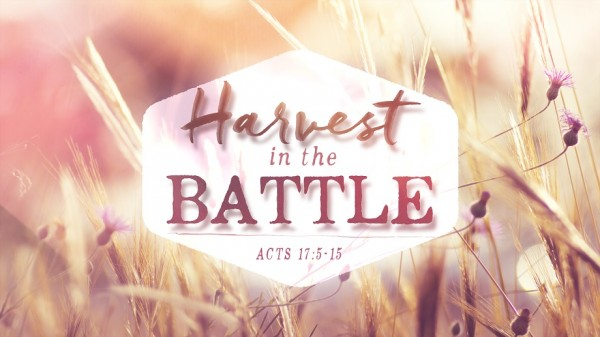 Harvest in the Battle