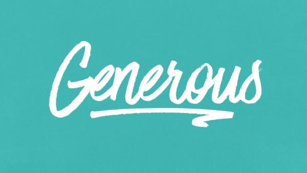 Generous - Part 1