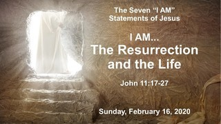 i-am-the-resurrection-and-the-lifeI am... The Resurrection and The Life