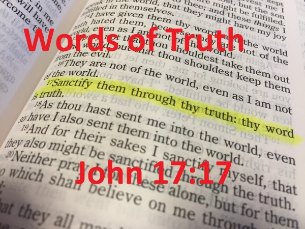 Word's of Truth Broadcast 3/21/16