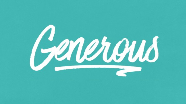 Generous - Part 2