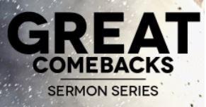 sermon-great-comebacks-5-what-faith-wont-allow-bartimaeusSERMON - Great Comebacks 5: What Faith Won't Allow - Bartimaeus