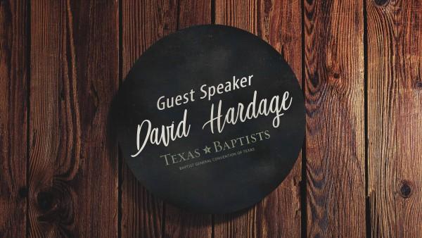 Sunday with David Hardage