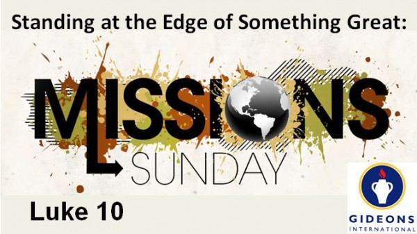 Something Great: Missions Sunday