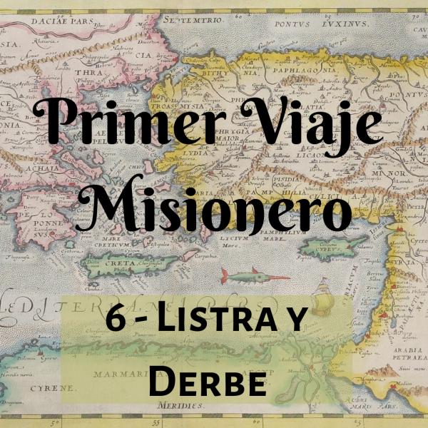 Listra Y Derbe