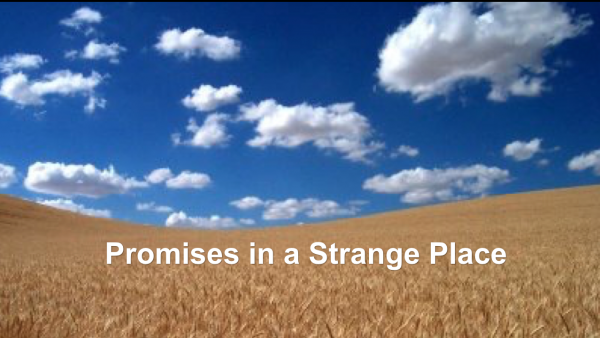 Promises in the Strange Place
