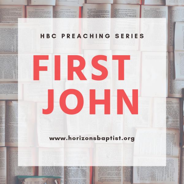 """Keeping the Commandments of God"" - 1 John 2:1-6 - Jason Boothe"