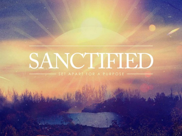 sanctifiedSanctified