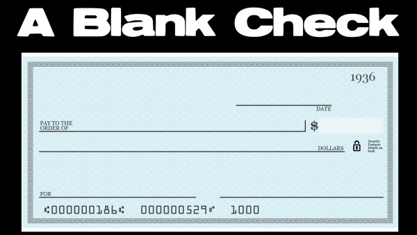 a-blank-checkA Blank Check