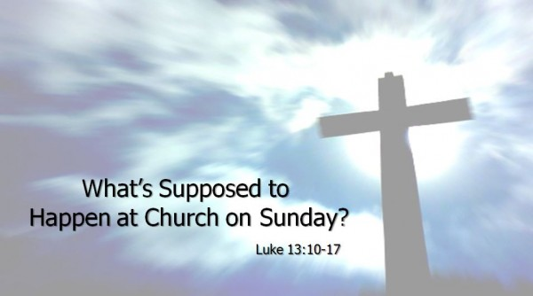 whats-supposed-to-happen-on-sundayWhat's Supposed to Happen on Sunday?