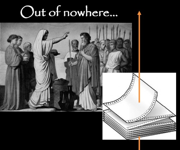 Hebrews Chapter 7 - Out of Nowhere...