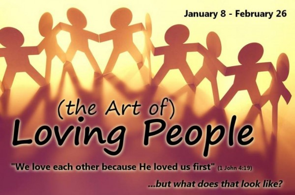 Loving People with your Talents