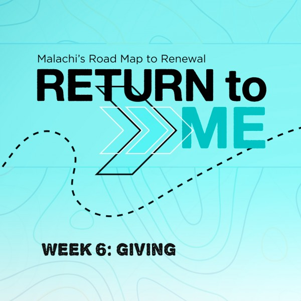Return To Me: Giving