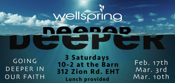 """Deeper 2018 week 2c """"The Great Simplicity yet Difficulty of the Gospel"""""""