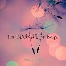 Thankful for Today Ezra 3:9-13