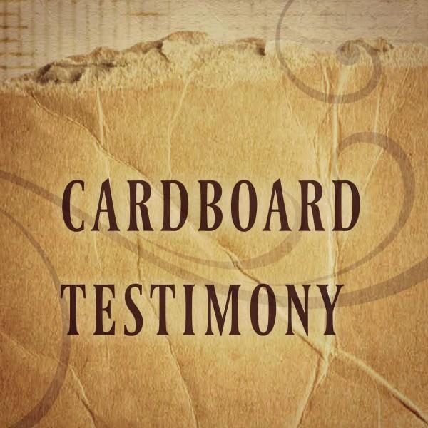 Cardboard Testimony - Dec 11th, 2016