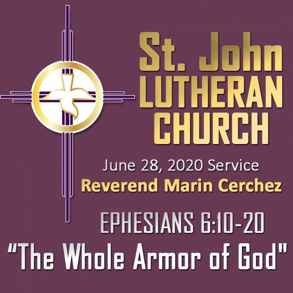 st-john-lutheran-church-sunday-sermon-june-28-2020ST. JOHN LUTHERAN CHURCH Sunday Sermon, June 28, 2020