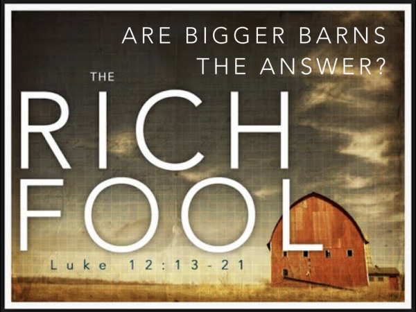 Are Bigger Barns the Answer?