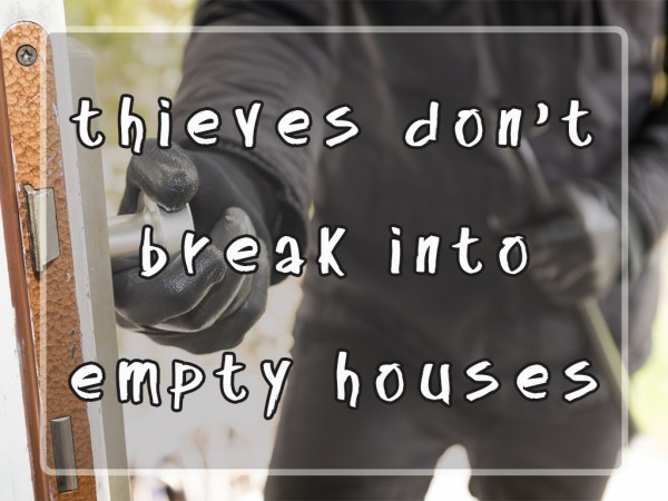 Thieves Don't Break Into Empty Houses. (Pastor Kenny Smith)