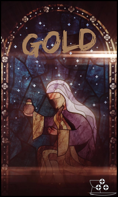 """""""The Gifts of Christmas: Gold."""""""