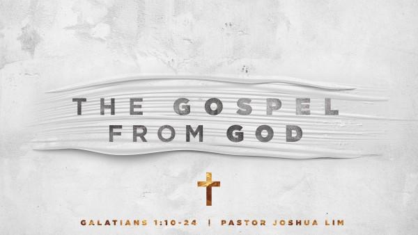 the-gospel-from-godThe Gospel From God