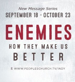 "Your Moment is Disguised as an Enemy - ""Enemies"" series - 10/2/16"