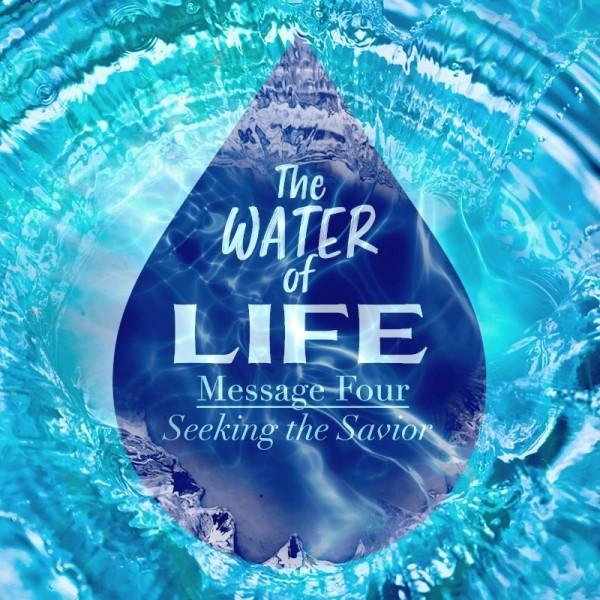 SERMON: The Water of Life Part 4 - Seeking the Savior