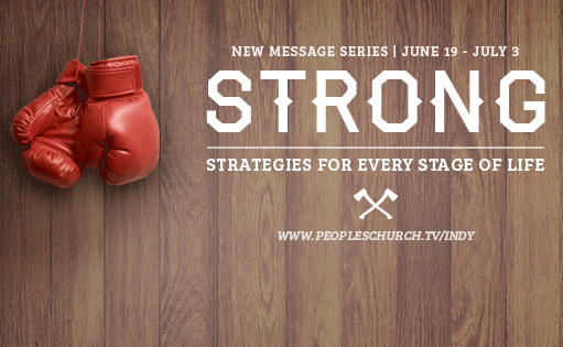 Series launch - 'Strong' series - 6/19/16