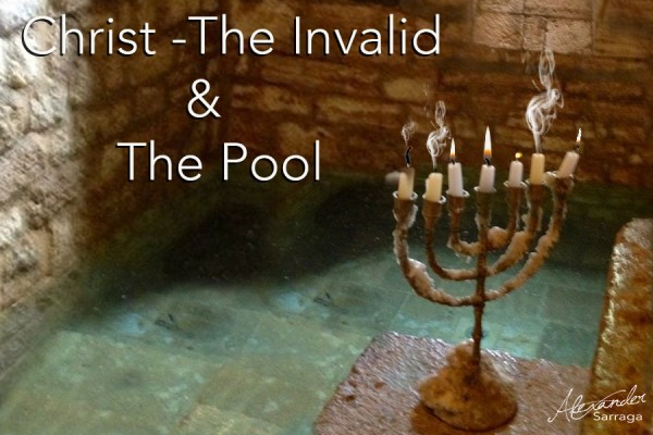 CHRIST-THE INVALID & THE POOL
