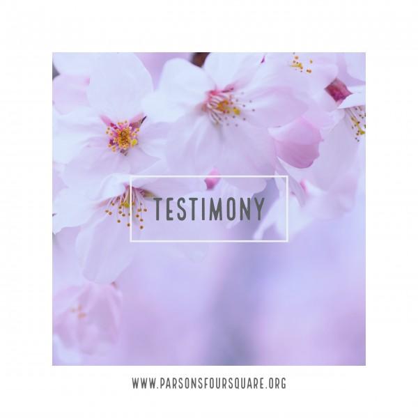 testimonyTestimony