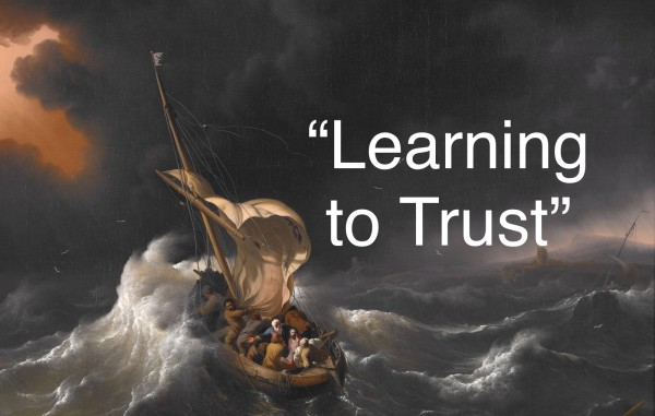 02 Tuesday 457 Learning to Trust