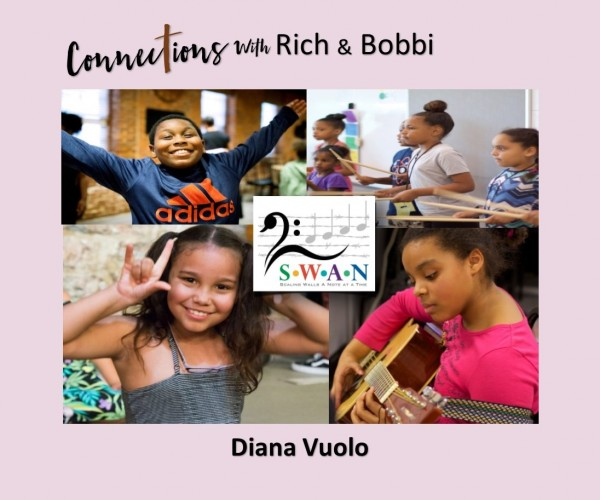 How a homeless & abandoned child went from trauma & fear to joy, song & success!  Diana Vuolo, Part 3