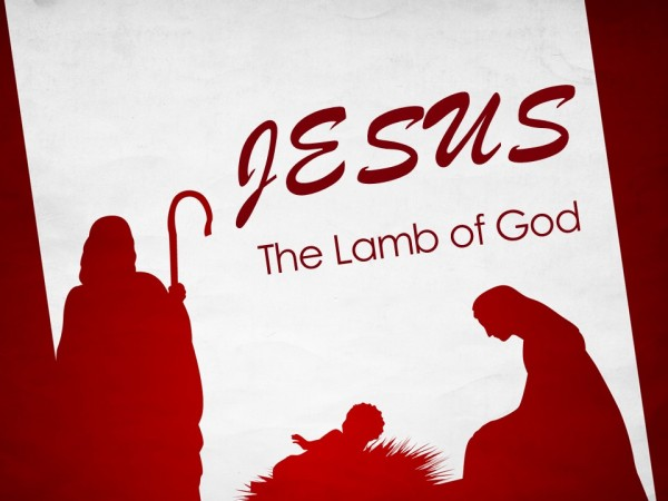 jesus-the-lamb-of-godJesus - the Lamb of God