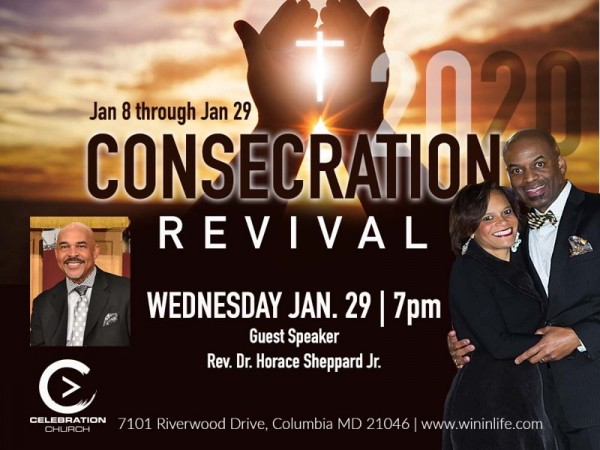 Celebration Consecration Revival Service 1-29-2020