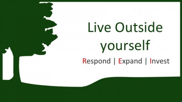 Live Outside Yourself: RESPOND 2 CorinthiansS 8:1-4