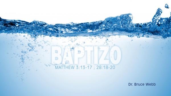 baptizoBaptizo