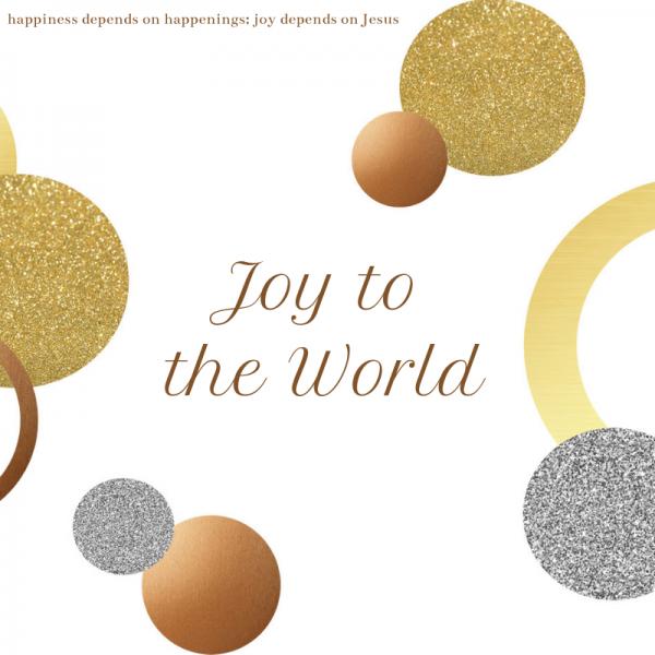 joy-to-the-world-by-lynn-swartJoy to the World by Lynn Swart