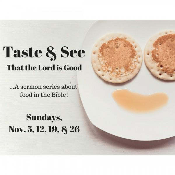 Taste & See: Oil