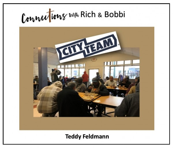 """""""Wow! I get to tell them the story of how God used City Team to save my life!"""" Teddy Feldmann, Pt 3"""