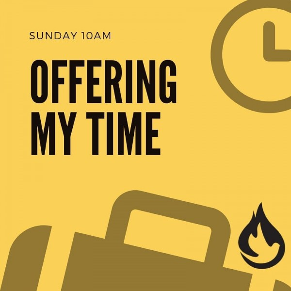 offering-my-timeOffering My Time
