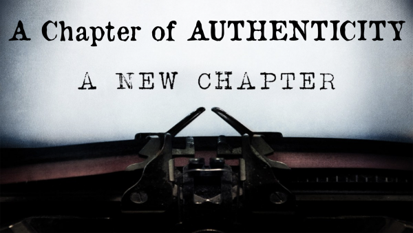 A Chapter of Authenticity